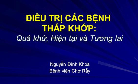 Dinh Độc Lập: 25 năm thành lập Hội Thấp khớp học TP. HCM