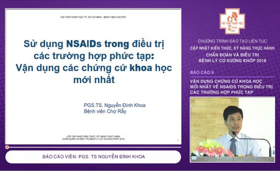 Video: Vận dụng chứng cứ khoa học mới nhất về NSAIDS... - CME 2018