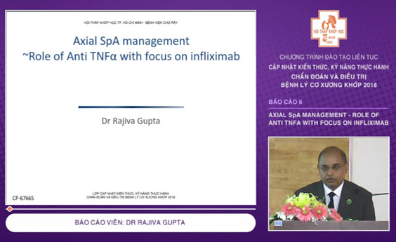 Video: Axial SpA management - Role of Anti TNFα with focus on infliximab - CME 2018