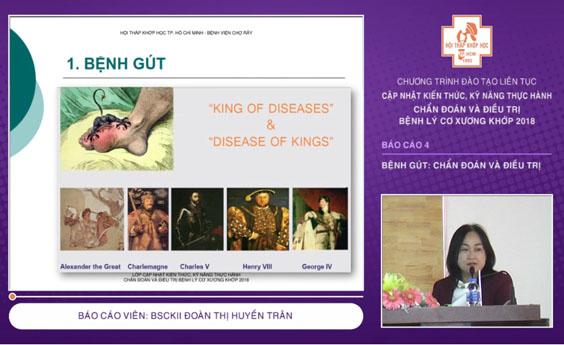 Bệnh gút - Chẩn đoán và điều trị - CME 2018