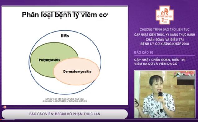 Video: Cập nhật chẩn đoán, điều trị viêm đa cơ và viêm da cơ - CME 2018