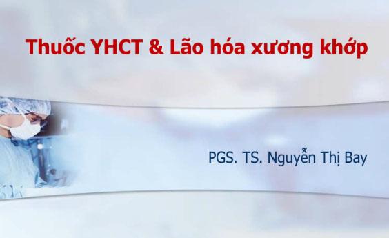 Thuốc YHCT & Lão hóa xương khớp - PGS. TS Nguyễn Thị Bay