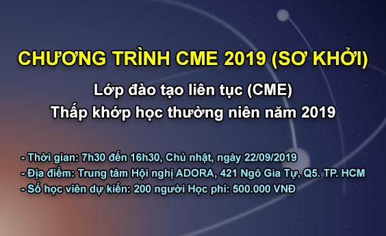 Chương trình CME 2019 (Sơ khởi)