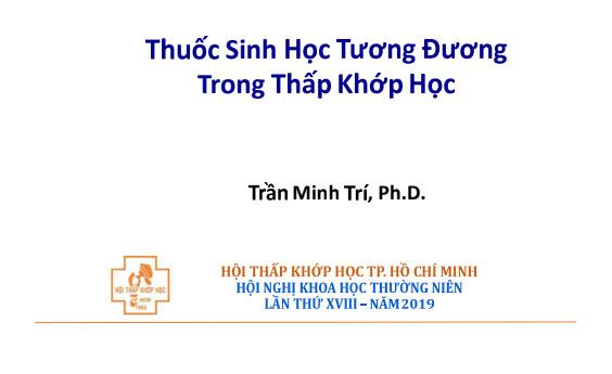 Điều trị loãng xương  cho phụ nữ mãn kinh - BSCKII Nguyễn Đình Thông