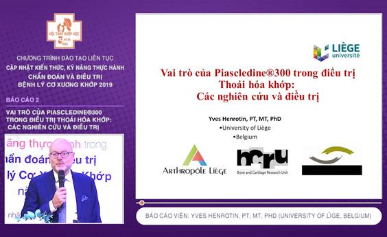 [Video] Vai trò của Piascledine®300 trong điều trị Thoái hóa khớp - Pro.Henrotin