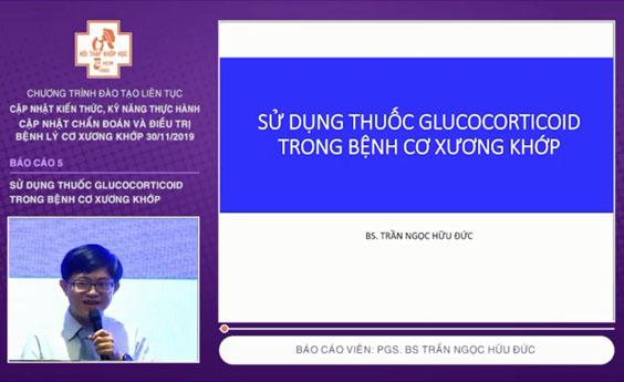 [Video] Sử dụng thuốc Glucocorticoid trong bệnh cơ xương khớp – BSCKI Trần Ngọc Hữu Đức