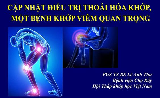 cme 2019 tai lieu cap nhat dieu tri thoai hoa khop pgs ts bs le anh thu