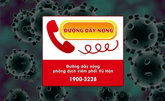 Đường dây nóng Bộ Y Tế thông tin về dịch bệnh Virus Corona 19003228