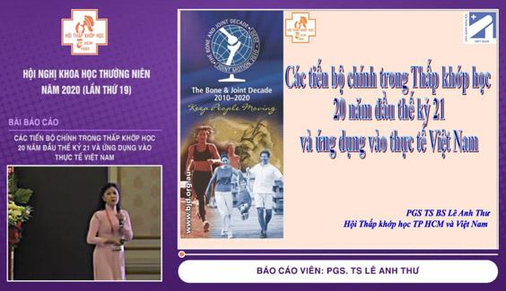 [Video] Các tiến bộ chính trong Thấp khớp học 20 năm đầu thế kỷ 21 và ứng dụng vào thực tế Việt Nam – PGS. TS Lê Anh Thư