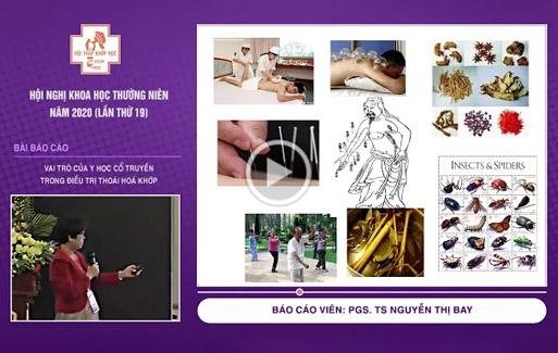 [Video] Vai trò của YHCT trong điều trị thoái hoá khớp – PGS. TS Nguyễn Thị Bay