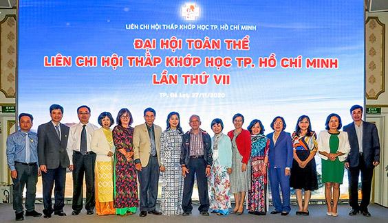 Ban chấp hành Hội Thấp Khớp Học TPHCM nhiệm kỳ VII (2020 – 2024)